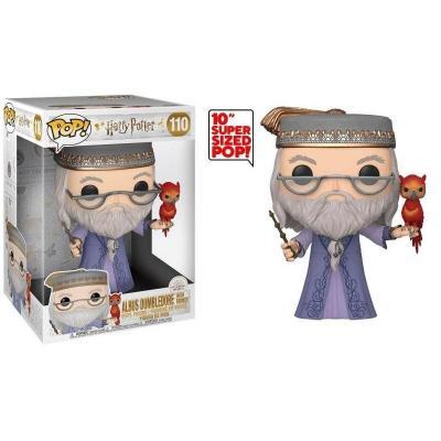 Harry potter bobble head pop n 110 dumbledore w fawkes 11