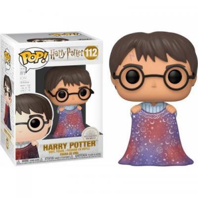 Harry potter bobble head pop n 112 harry w invisibility cloak