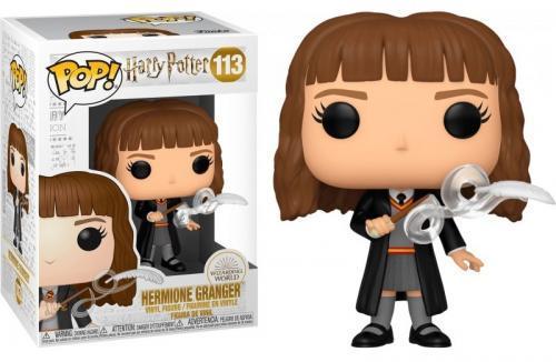 Harry potter bobble head pop n 113 hermione w feather
