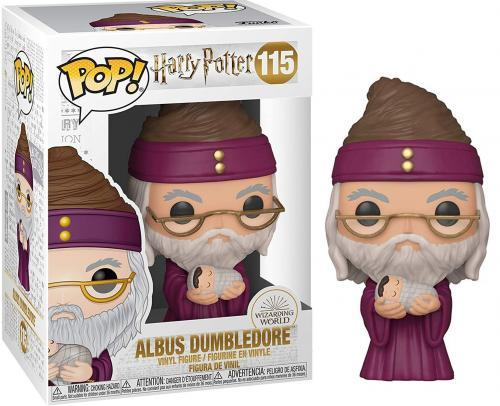 Harry potter bobble head pop n 115 dumbledore w baby harry