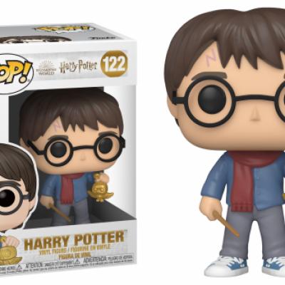 Harry potter bobble head pop n 122 holiday harry potter