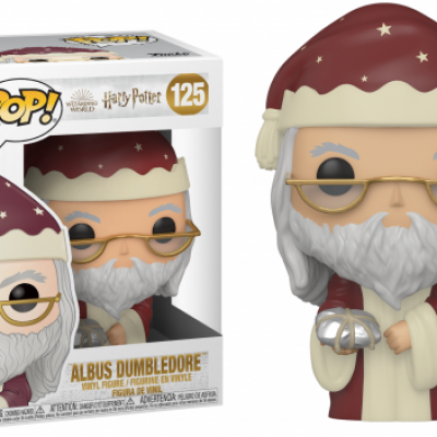 Harry potter bobble head pop n 125 holiday albus dumbledore