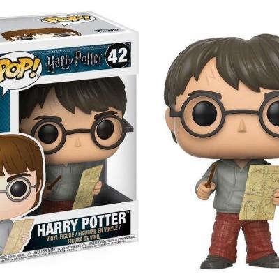 Harry potter bobble head pop n 42 harry with marauders map