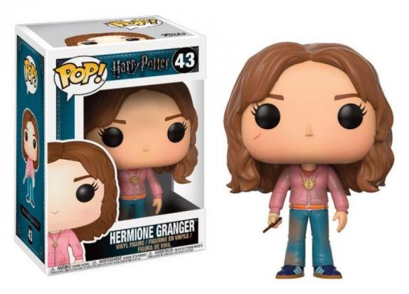 Harry potter bobble head pop n 43 hermione with time turner