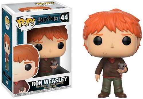 Harry potter bobble head pop n 44 ron with scabbers