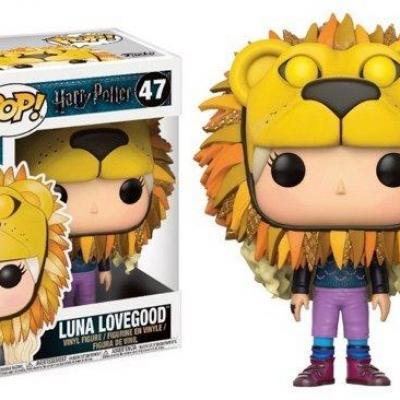 Harry potter bobble head pop n 47 luna with lion s head