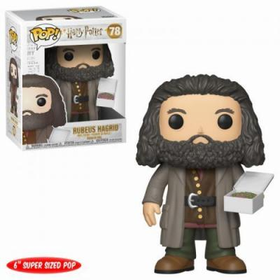 Harry potter bobble head pop n 78 hagrid with cake oversize