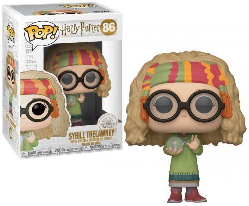 Harry potter bobble head pop n 86 s7 professor sybill
