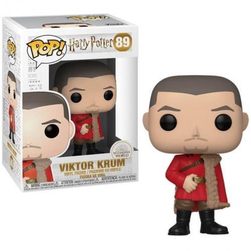 Harry potter bobble head pop n 89 s7 victor krum yule