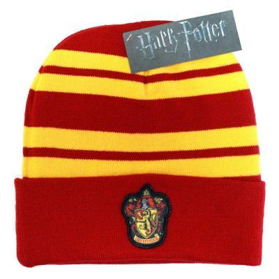 Harry potter bonnet gryffindor logo