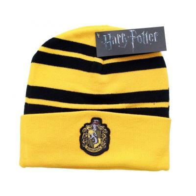 Harry potter bonnet hufflepuff logo