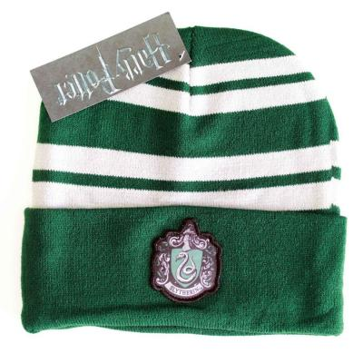 Harry potter bonnet slytherin logo