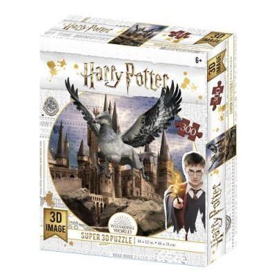 Harry potter buckbeak puzzle lenticulaire 3d 300p 46x31cm