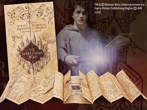 Harry potter carte du maraudeur 1