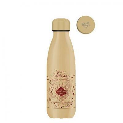 Harry potter carte du maraudeur bouteille isotherme 350ml