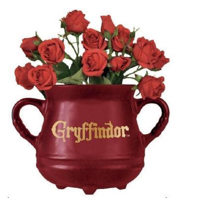 Harry potter chaudron gryffondor pot de fleur mural