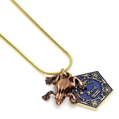Harry potter chocolate frog collier