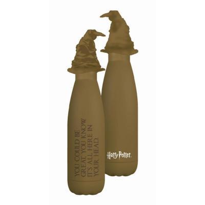 Harry potter choixpeau magique bouteille en metal 3d 500ml