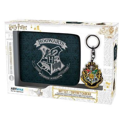 Harry potter coffret cadeau wallet keyring hogwarts