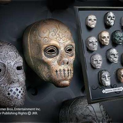 Harry potter collection des masques des mangemorts