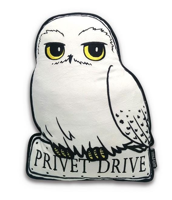 Harry potter coussin hedwige
