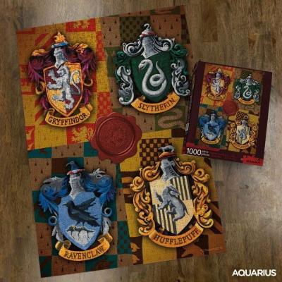 Harry potter crests puzzle 1000p