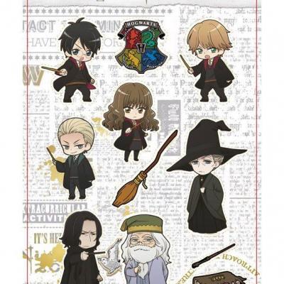 Harry potter cute characters set d aimants
