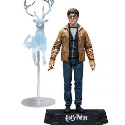 Harry potter deathly hallows action figure harry potter 15cm