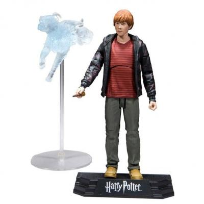 Harry potter deathly hallows action figure ron weasley 15cm
