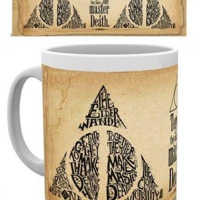 Harry potter deathly hallows mug 300ml