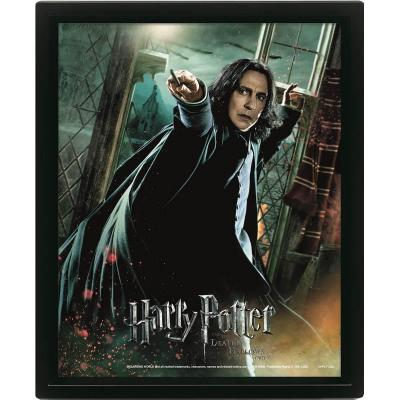Harry potter deathly hallows poster lenticulaire 3d 26x20cm