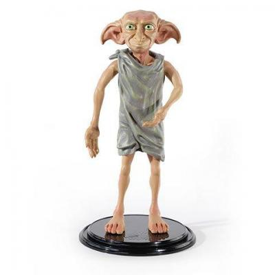 Harry potter dobby figurine bendyfigs avec support
