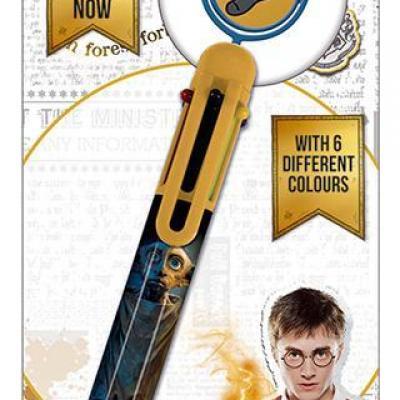 Harry potter dobby multi coloured pen