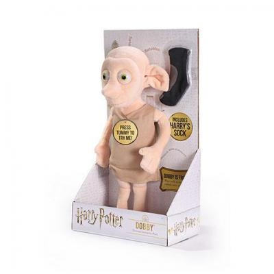 Harry potter dobby peluche interactive