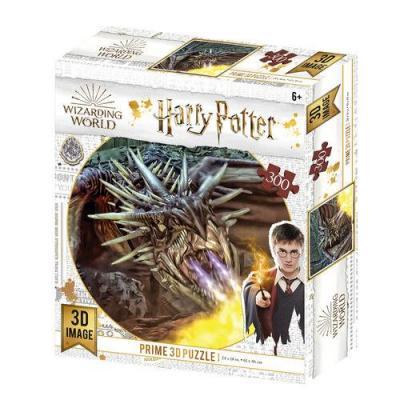 Harry potter dragon puzzle lenticulaire 3d 300p 61x46cm