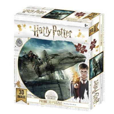 Harry potter dragon puzzle lenticulaire 3d 500p 61x46cm