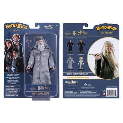 Harry potter dumbledore figurine bendyfigs avec support