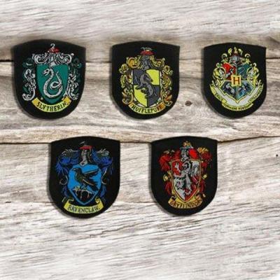 Harry potter ecussons poudlard lot de 5 pces