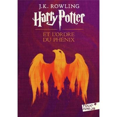 Harry potter et l ordre du phenix folio junior tome 5