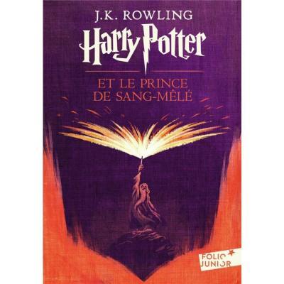 Harry potter et le prince de sang mele folio junior tome 6