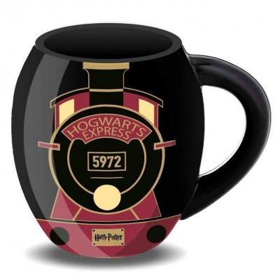 Harry potter express tasse ovale 8x10x8cm