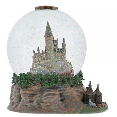 Harry potter figurine boule a neige poudlard 18x13x14