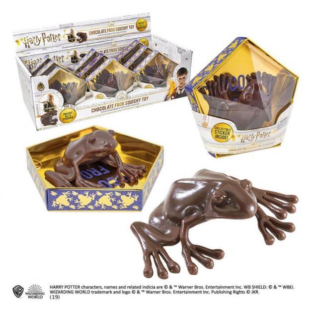 Harry potter figurine chocogrenouille display 9 pcs