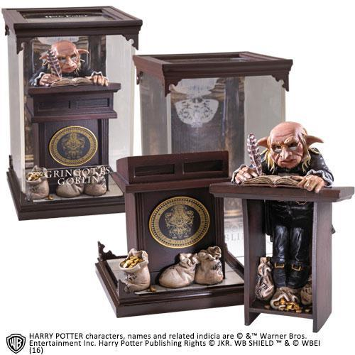 Harry potter figurine creature magique 10 gringotts goblin