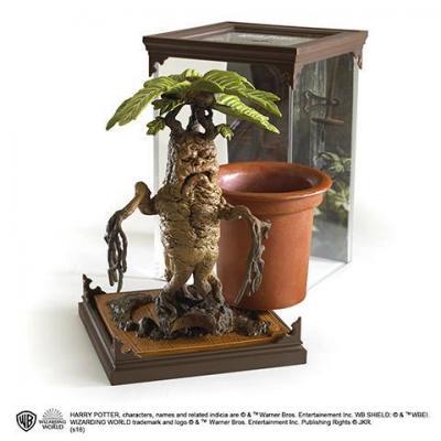 Harry potter figurine creature magique 17 mandragore