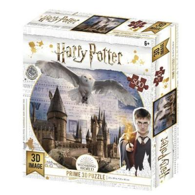 Harry potter flying over puzzle lenticulaire 3d 500p 61x46cm