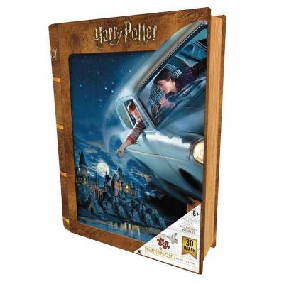 Harry potter flying puzzle lenticulaire 3d 300p 46x31cm v2