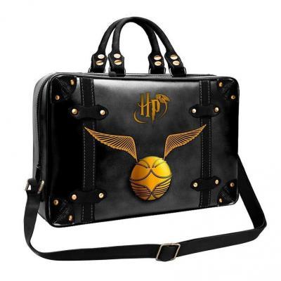 Harry potter golden snitch black sac pour pc 40x28x6cm