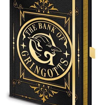 Harry potter gringotts notebook a5 premium