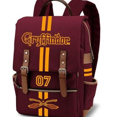Harry potter gryffindor oxford style sac a dos 29x43x13 5cm